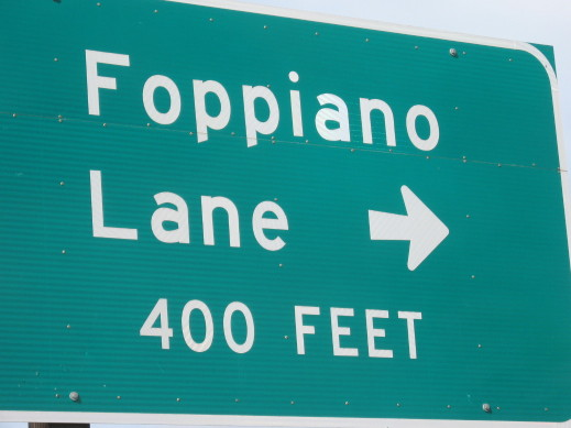 foppiano lane